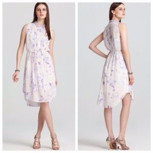 Rebecca Taylor Hawaii Dress with Studded Collar